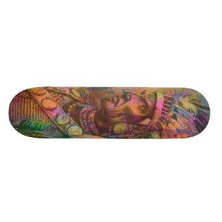 Cor indiana do clipart do nativo americano antigo  shape de skate 19,7cm