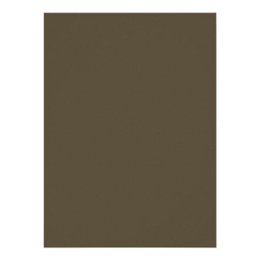 Cor Khaki do verde Greyed escuro do exército de Ca Convite