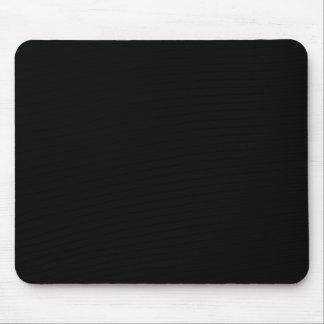Cor preta contínua mouse pad