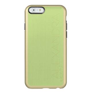 Cor sólida de Greem do aipo Capa Incipio Feather® Shine Para iPhone 6