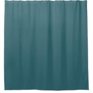Cor sólida do azul de pavão (cerceta escura ou cortinas para chuveiro
