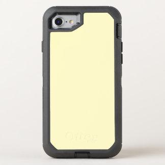 Cor sólida do Chiffon do limão ele Capa Para iPhone 7 OtterBox Defender