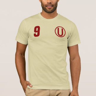 Cor v2 peru do creme da camisa de Universitario