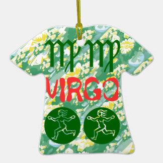 Cor verdadeira: Símbolo do zodíaco do Virgo Enfeites De Natal