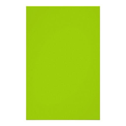 Cor verde do Android pronta para personalizar se Panfletos Personalizado