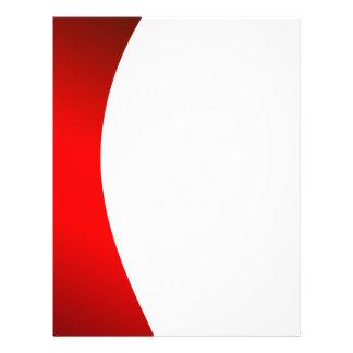 Cor vermelha e branca do fundo modelo de panfletos
