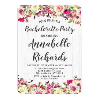 Cora o convite cor-de-rosa & verde da festa de