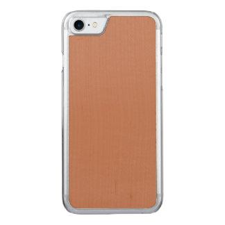 Cora o ouro Brown de cobre Capa iPhone 7 Carved