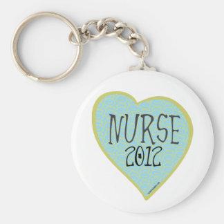 Coração 2012 da enfermeira chaveiro