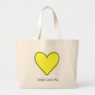 Coração amarelo bolsas