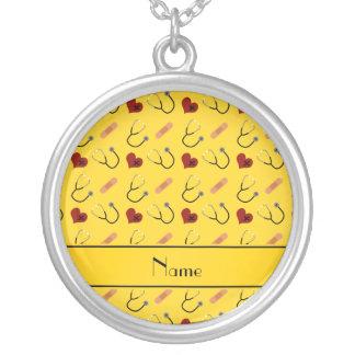 Coração amarelo conhecido feito sob encomenda da bijuteria