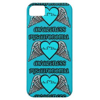 Coração/asas… Dysautonomia Capas Para iPhone 5