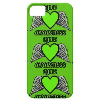Coração/asas… Lyme Capa Barely There Para iPhone 5