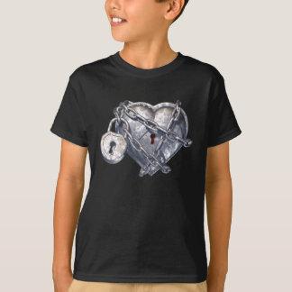 Coração blindado camiseta