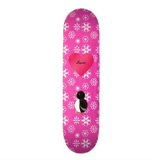 Coração bonito conhecido feito sob encomenda dos f shape de skate 18,7cm