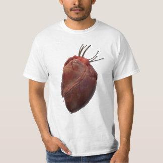 coração camiseta