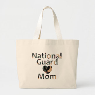 Coração Camo da mamã da guarda nacional Bolsas De Lona