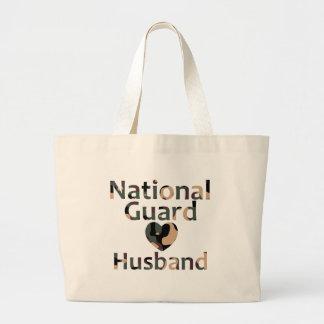 Coração Camo do marido da guarda nacional Bolsas