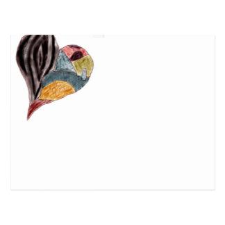 Coração Cartão Postal