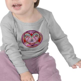 Coração Chakra de NOVINO - apresentação artística Camiseta