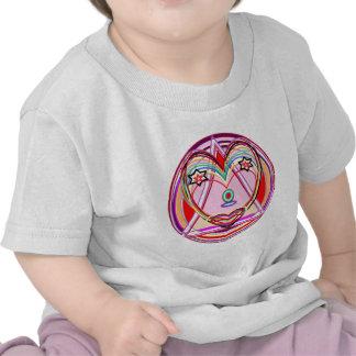 Coração Chakra de NOVINO - apresentação artística Camisetas