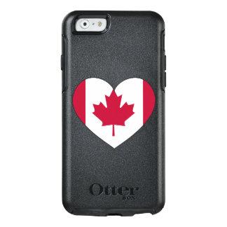 Coração da bandeira de Canadá