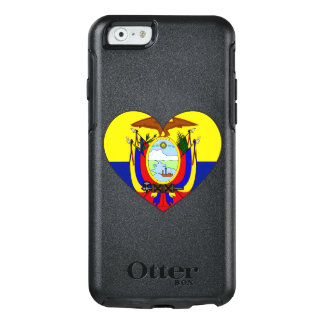 Coração da bandeira de Equador