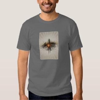 Coração da camisa da cidade T Tshirts