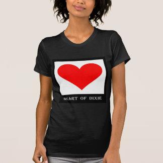 Coração de Alabama de Dixie Camiseta