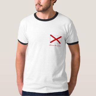 Coração de Alabama de Dixie! T-shirts