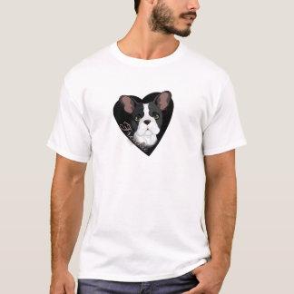 Coração de Frenchie Camiseta