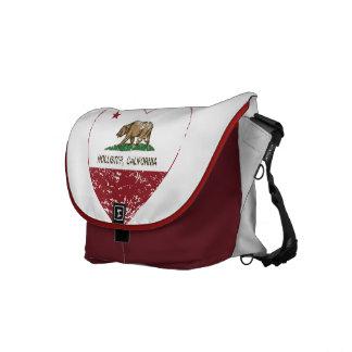 coração de Hollister da bandeira de Califórnia afl Bolsas Mensageiro