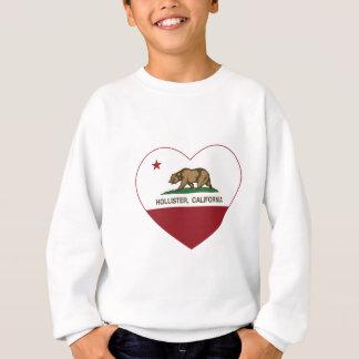 coração de Hollister da bandeira de Califórnia Agasalho