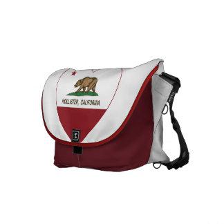 coração de Hollister da bandeira de Califórnia Bolsas Mensageiro