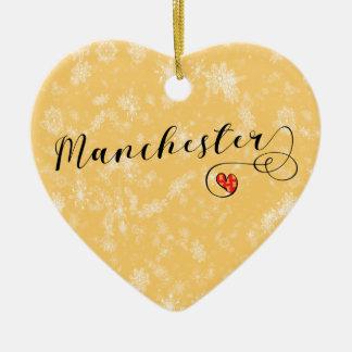Coração de Manchester, ornamento da árvore de