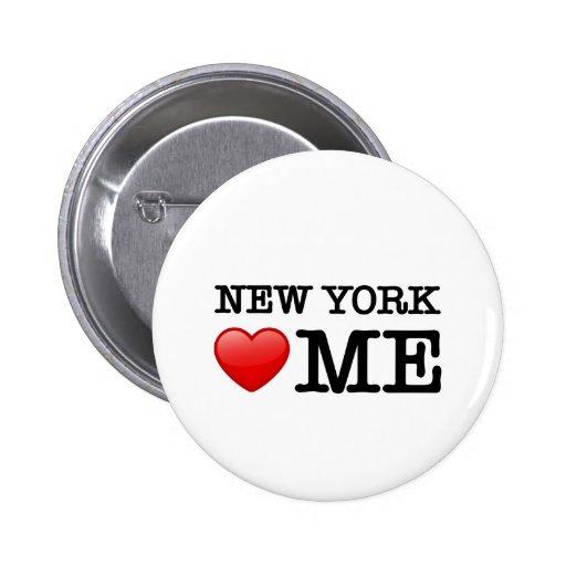 Coração de New York MIM Botons