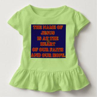 Coração de nossas fé e esperança: O Jesus Camiseta Infantil