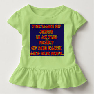Coração de nossas fé e esperança: O Jesus T-shirts
