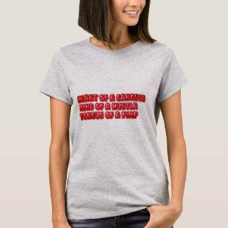 Coração de um Gangsta Camiseta