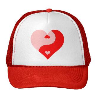 Coração de Yin Yang Boné