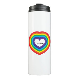 Coração do arco-íris