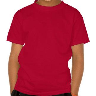 Coração do azul de New York NY T-shirts