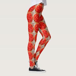 Coração do design de Legging