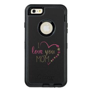 Coração do dia das mães da mamã do amor