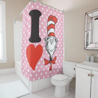 Coração do Dr. Seuss Namorados | I o gato no Cortina Para Box