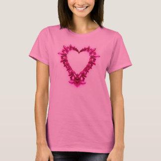 Coração do Fractal Camiseta
