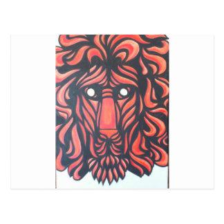Coração do leão cartão postal