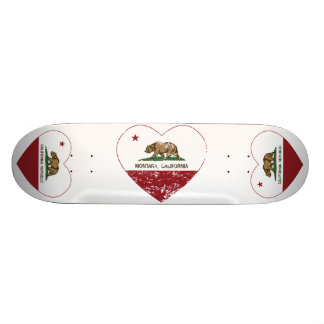 coração do montara da bandeira de Califórnia aflig Shape De Skate 19,7cm