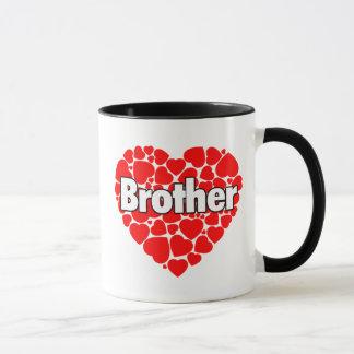 Coração dos corações - caneca do irmão