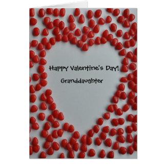 coração dos doces dos namorados para o cartão da